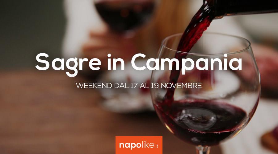 Sagre in Campania nel weekend dal 17 al 19 novembre 2017
