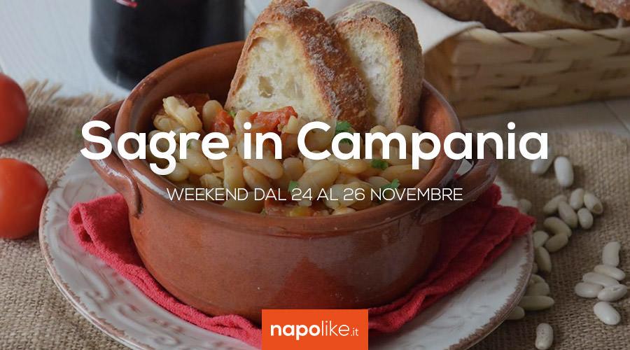 Sagre in Campania nel weekend dal 24 al 26 novembre 2017