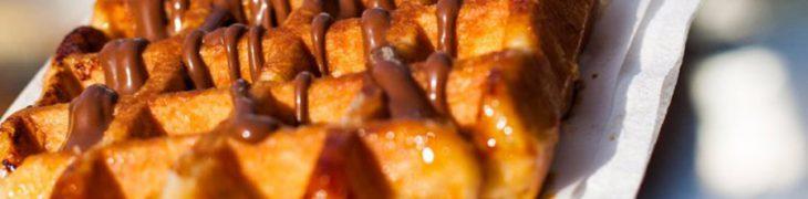 Street food, dolce al cioccolato