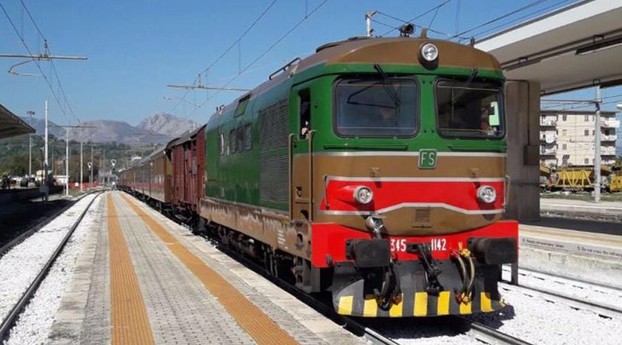 Treno storico per Pietrelcina