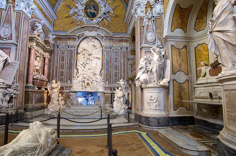 Cristo Velato nella Cappella Sansevero a Napoli