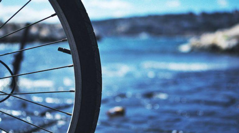 À vélo à Pozzuoli