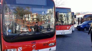 Bus EAV a Napoli, prolungamento per Capodanno 2018