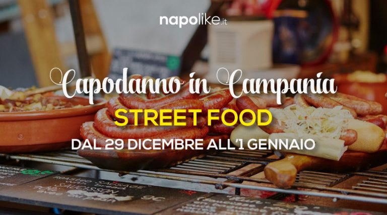 Street Food in Campania for 2018 New Year