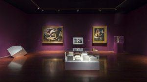 póster de la Exposición del Libro Blanco en el Museo de Capodimonte en Nápoles con diez curadores especiales