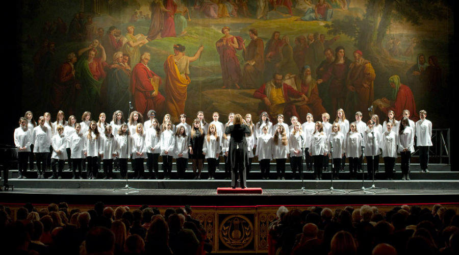 coro di voci bianche del Teatro San Carlo