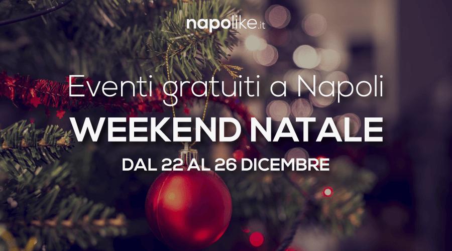 Eventi gratuiti a Napoli Natale 2017