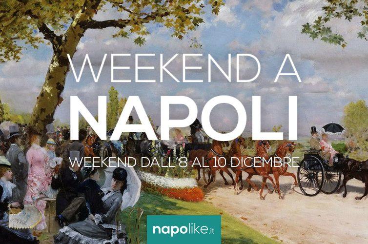 Eventi a Napoli nel weekend dall'8 al 10 dicembre 2017