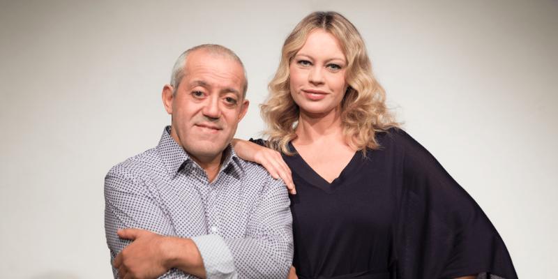 Anna Falchi und Gianni Ferreri Die Band der ehrlichen Menschen