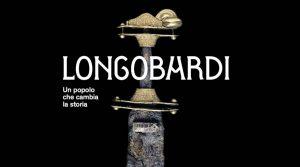 locandina di Longobardi al Museo Archeologico di Napoli, la mostra con più di 300 opere