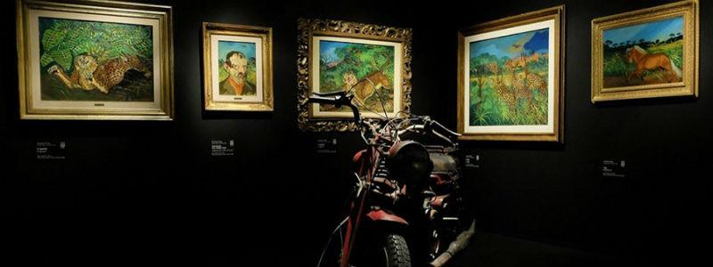 La mostra Museo della Follia da Goya a Maradona a Napoli