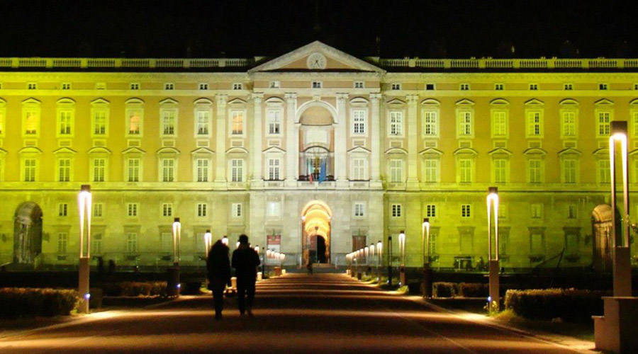 Royal Palace of Caserta at Christmas