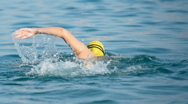 Coppa di nuoto Napoli-Capri a Natale