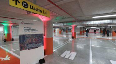 Parcheggio sotterraneo a Piazza Garibaldi a Napoli