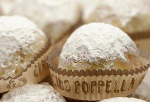 Pâtisserie Poppella, les flocons de neige