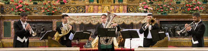 Quintessenza Brass, concerto dell'Epifania
