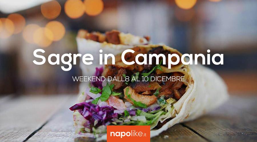 Sagre in Campania nel weekend dall'8 al 10 dicembre 2017
