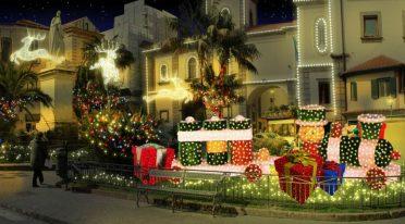 Il Santa Claus Village a Sorrento a Villa Fiorentino