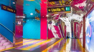 Bahnhof von Neapel U-Bahn Kunst