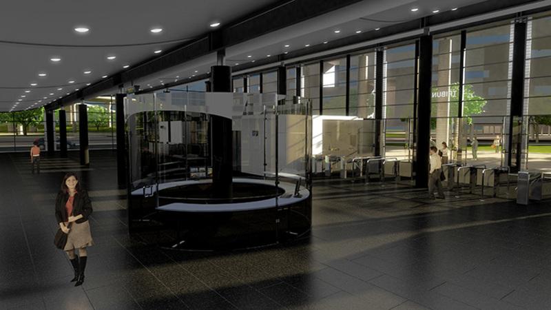 La Stazione Tribunale di Napoli, rendering