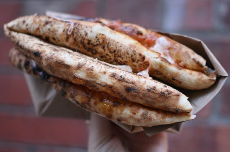 Pizza a portafoglio - street food