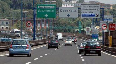 Tangenziale di Napoli, chiuse alcune uscite