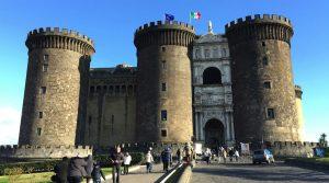 Maschio Angioino Castle в Неаполе
