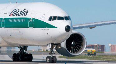 طائرة أليطاليا ، 19 ضربة في يناير 2018