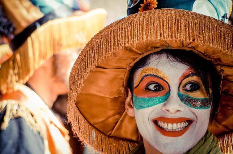 Sfilata di Carnevale a Scampia