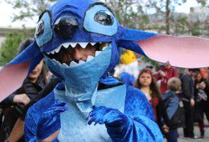Comicon a Napoli, costume da Stitch