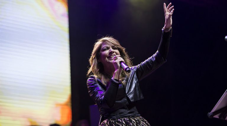 Cristina D'Avena in concert