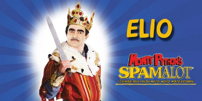 Elio in Spamalot al Teatro Augusteo di Napoli