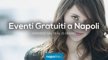 Eventi gratuiti a Napoli nel weekend dal 19 al 21 gennaio 2018