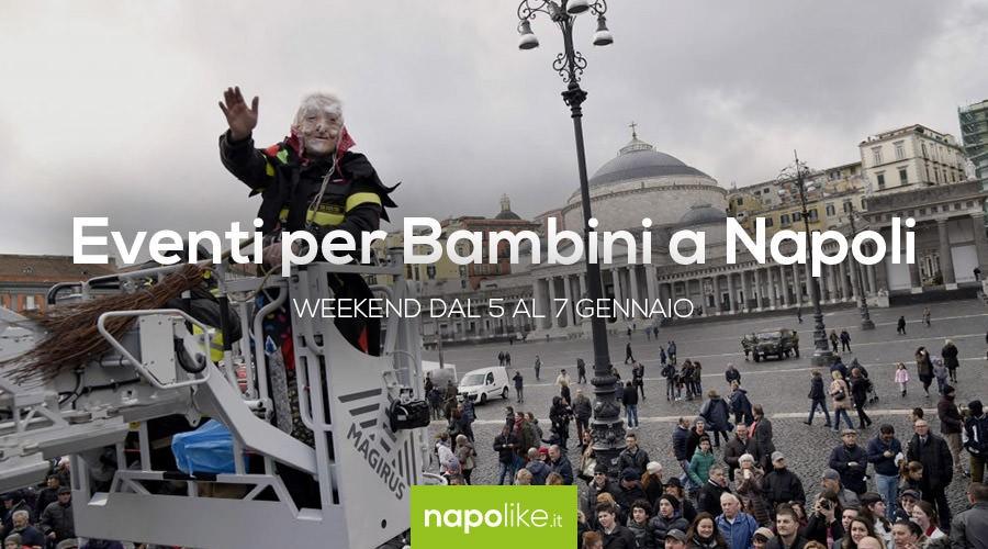 Eventi per bambini a Napoli dal 5 al 7 gennaio 2018