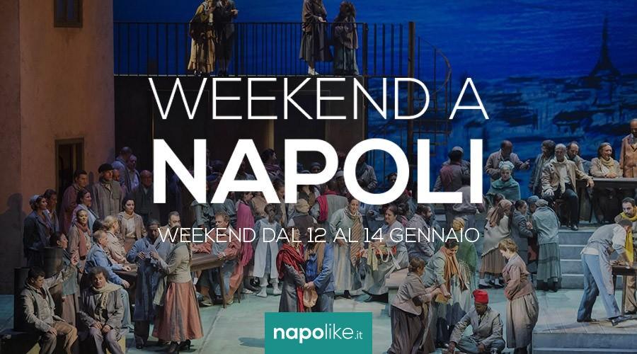 Eventi a Napoli nel weekend dal 12 al 14 gennaio 2018