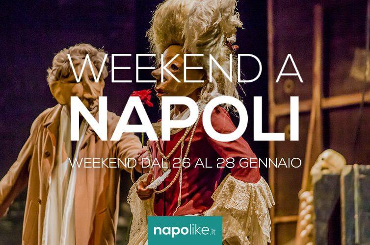 Eventi a Napoli nel weekend dal 26 al 28 gennaio 2018