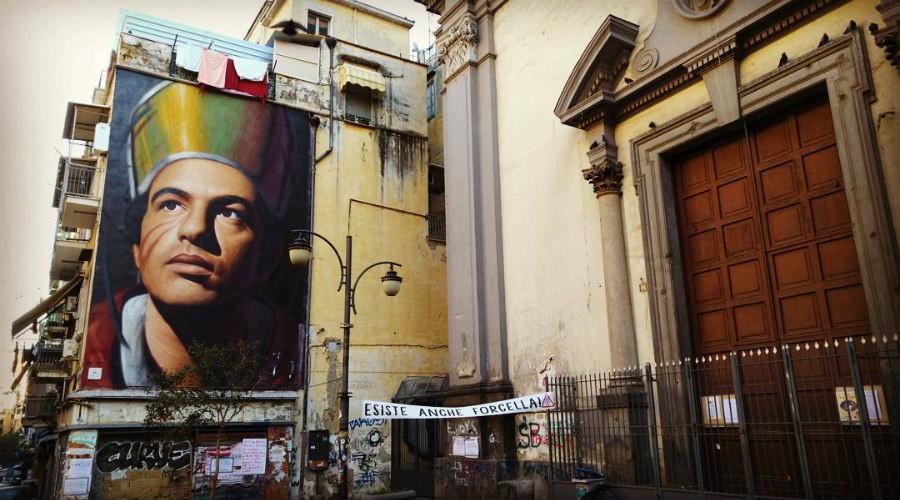 Quartiere Forcella a Napoli