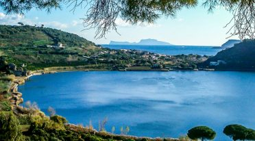 Overview of Lake Averno