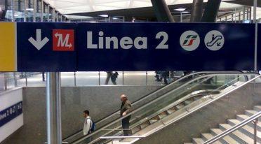 Línea de metro 2 en Nápoles