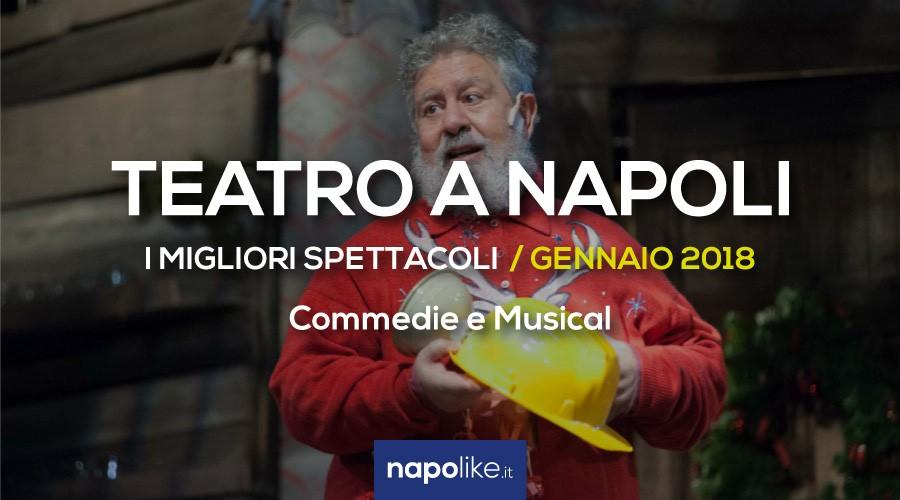 I migliori spettacoli teatrali a Napoli, commedie e musical