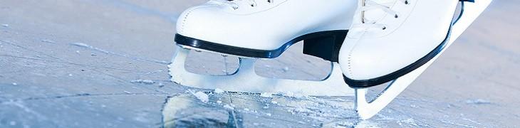 Pista di pattinaggio sul ghiaccio al Vulcano Buono
