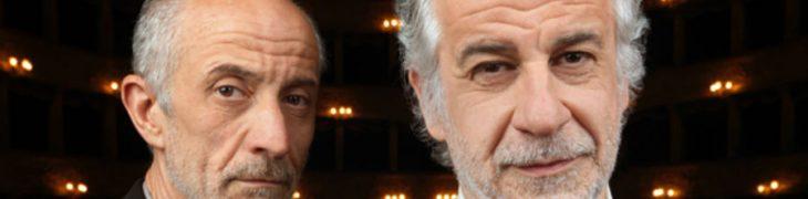 Peppe e Toni Servillo al Teatro Diana di Napoli con La parola canta