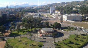 Piazzale Tecchio a Napoli
