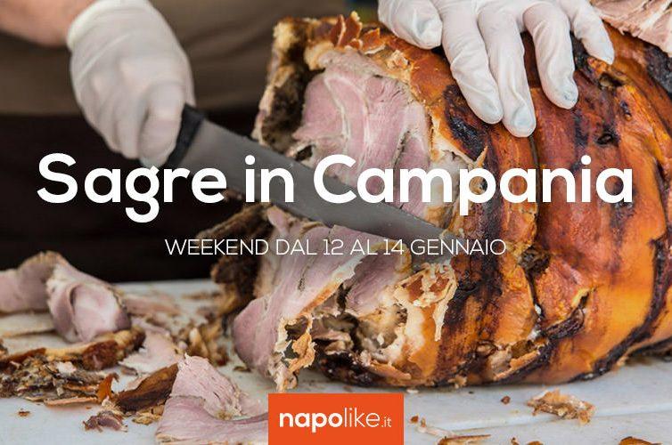 Sagre in Campania nel weekend dal 12 al 14 gennaio 2018