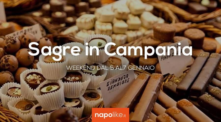 Sagre in Campania dal 5 al 7 gennaio 2018