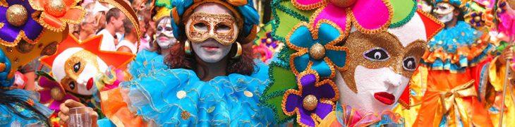 Карнавальный парад, мероприятия в Неаполе и Кампании
