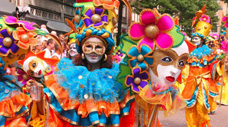 Carnival parade, events in Naples and Campania