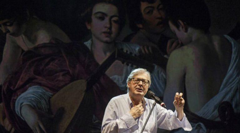 """""""Caravaggio"""", un espectáculo de y con Vittorio Sgarbi"""