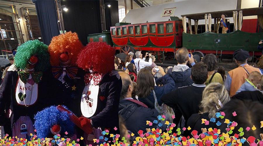 Festa in maschera al Museo di Pietrarsa