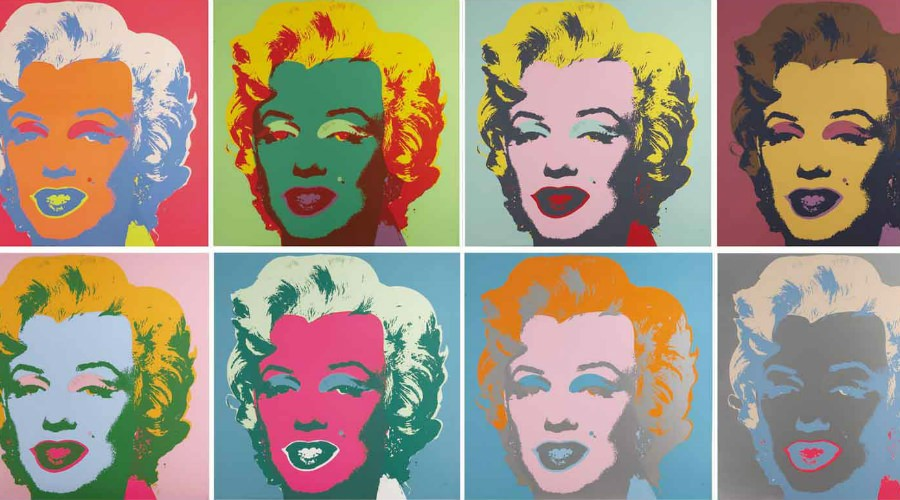 Marylin Monroe di Andy Warhol